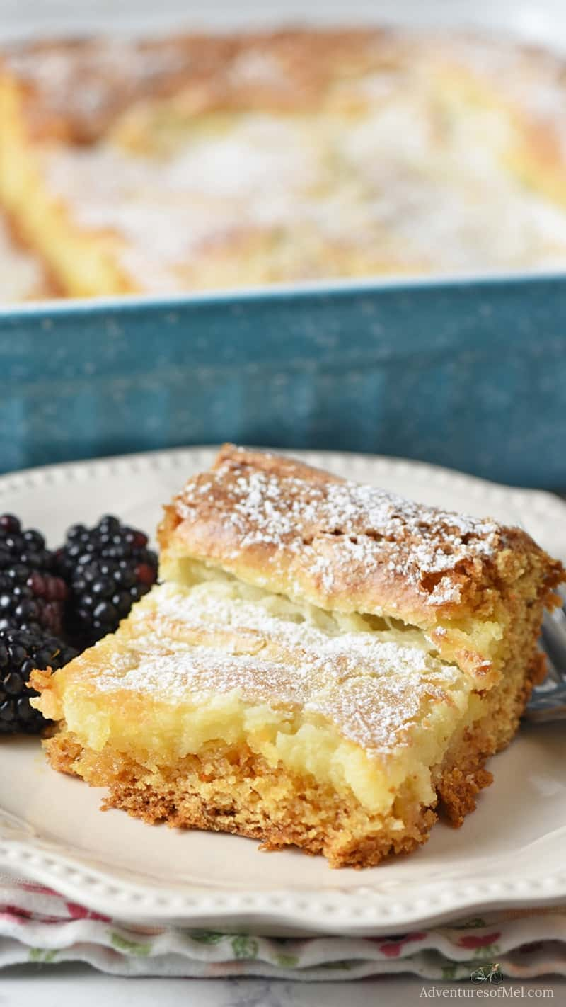 ooey gooey butter cake recipe