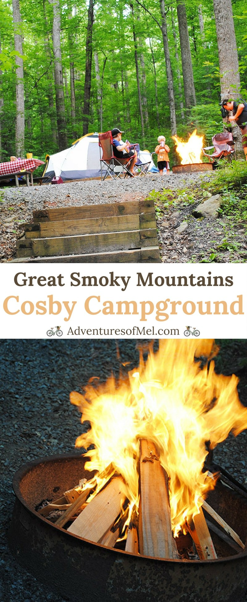 Great Smoky Mountains Cosby Campground