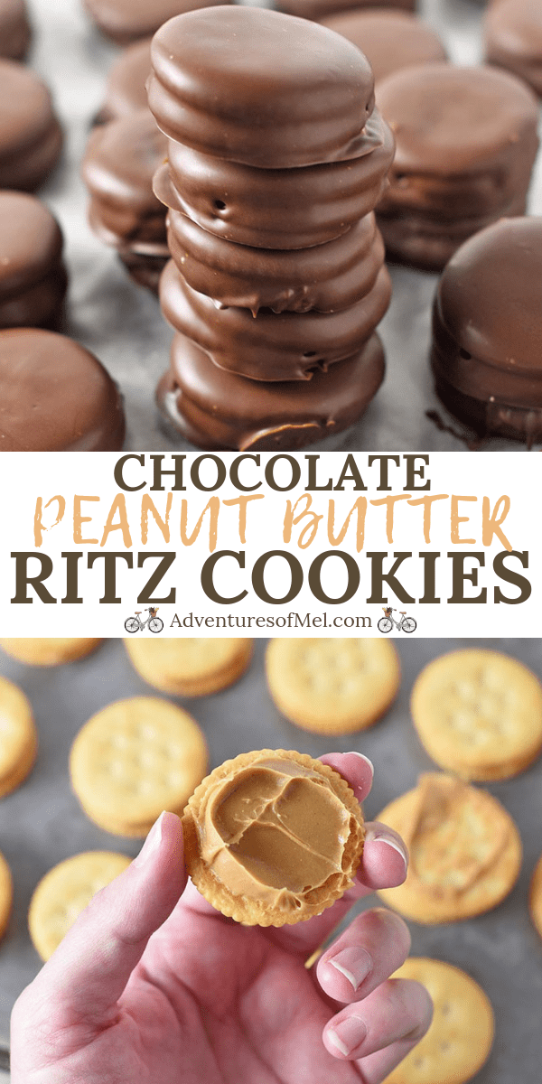 Chocolate Peanut Butter Ritz Cracker Cookies Recipe