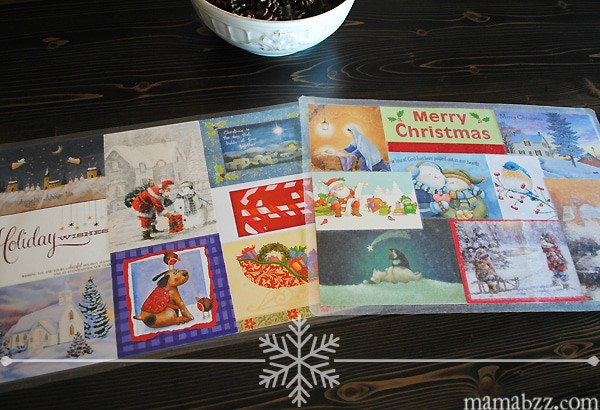 Holiday Craft ~ How to Recycle Old Christmas Cards into Festive ...