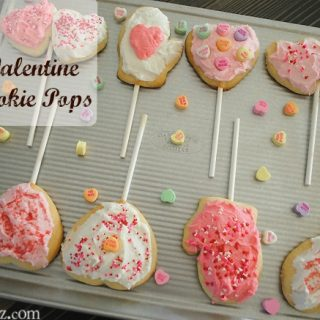 Valentine Sugar Cookie Pops