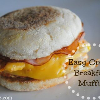 Easy Omelet Breakfast Muffin
