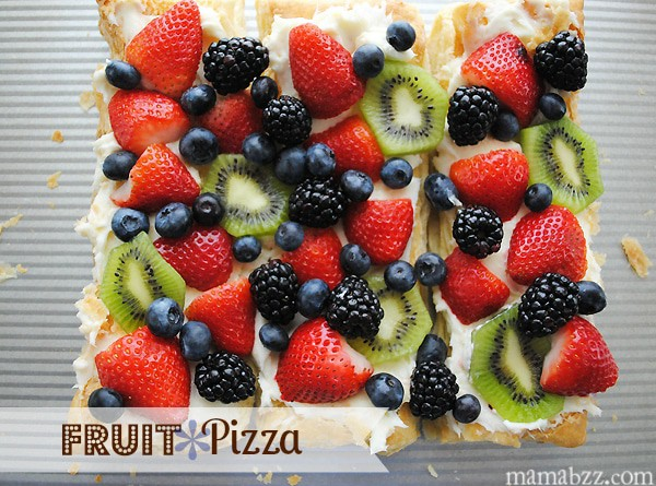 Fruit Pizza Recipe from MamaBuzz