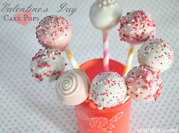 Valentineu0027s Day Cake Pops From MamaBuzz