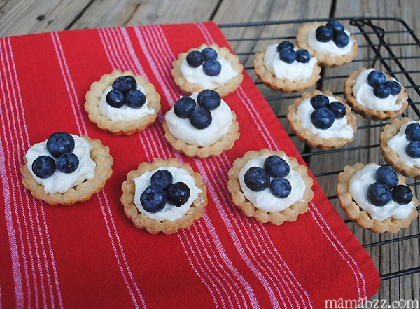 Blueberry Mini Tarts