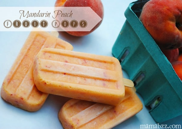 Mandarin Peach Fruit Pops