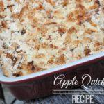 Apple Quickie Recipe