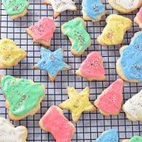 Crisp Cutout Sugar Cookies