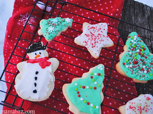 Cutout Sugar Cookies Holiday Recipe