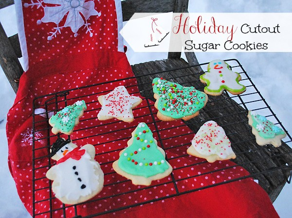 Holiday Cutout Sugar Cookies from MamaBuzz {mamabzz.com}