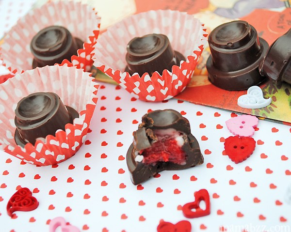 homemade Valentine's Day candy