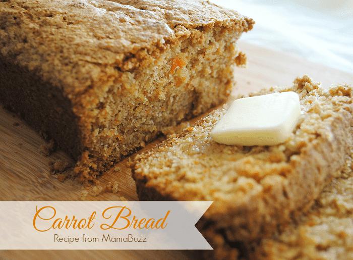 Homemade Carrot Bread Recipe from MamaBuzz