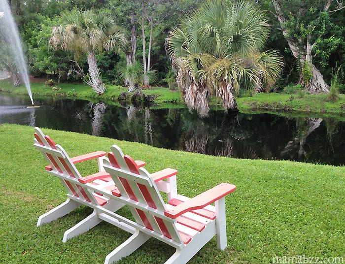 A place to relax at Anchor Inn and Cottages on Sanibel Island Florida