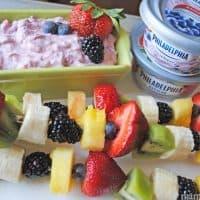 How to make fruit kabobs #SpreadtheFlavor #shop