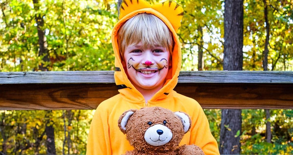 Diy Garfield Halloween Costume Adventures Of Mel