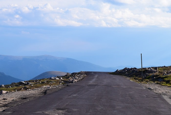 Just beyond Denver, outside Idaho Springs, stands beautiful Mount Evans, a 14,265′ beast of a mountain in the Front Range of the Colorado Rocky Mountains. Travel the highest paved road in North America, the road to the summit of Mount Evans in Colorado.