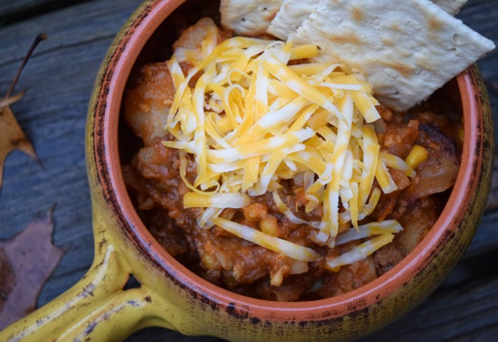 Slow Cooker Shepherd's Pie Stew {MamaBuzz - mamabzz.com}