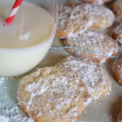 Butter Almond Snowball Cookies