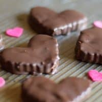 Chocolate Peanut Butter Valentine Candy {MamaBuzz}
