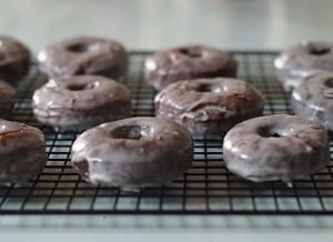 When it comes to breakfast ideas, sometimes sweet breakfast ideas, like donuts, fit the bill. Want chocolate donuts with a donut recipe that's easy to make? Heck yeah! Grab the recipe for chocolate glazed donuts. These tasty treats definitely disappeared in a hurry with our boys. Yum!