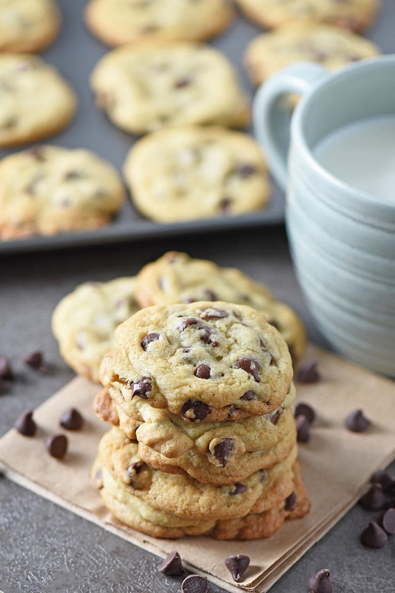 Chocolate Chip Cookies Are My Favorite Dessert And This Easy Recipe Is The Best Cookie Ever Make Homemade Chewy From Scratch