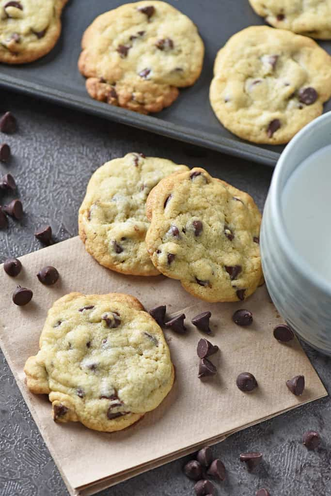 chewy chocolate chip cookies from scratch