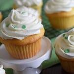 Lime Vanilla Poke Cake Cupcakes Recipe