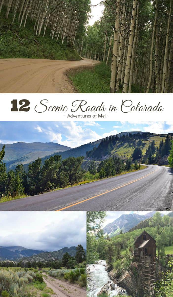 It's time to take the road less traveled. 12 scenic roads in Colorado to add to your travel bucket list, including scenic byways, national park roads, 4 wheel drive or 4x4 trails, and offroad adventures. Colorado roads that will take your breath away.