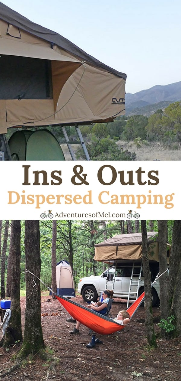 Ins and Outs of Dispersed Camping with a Family