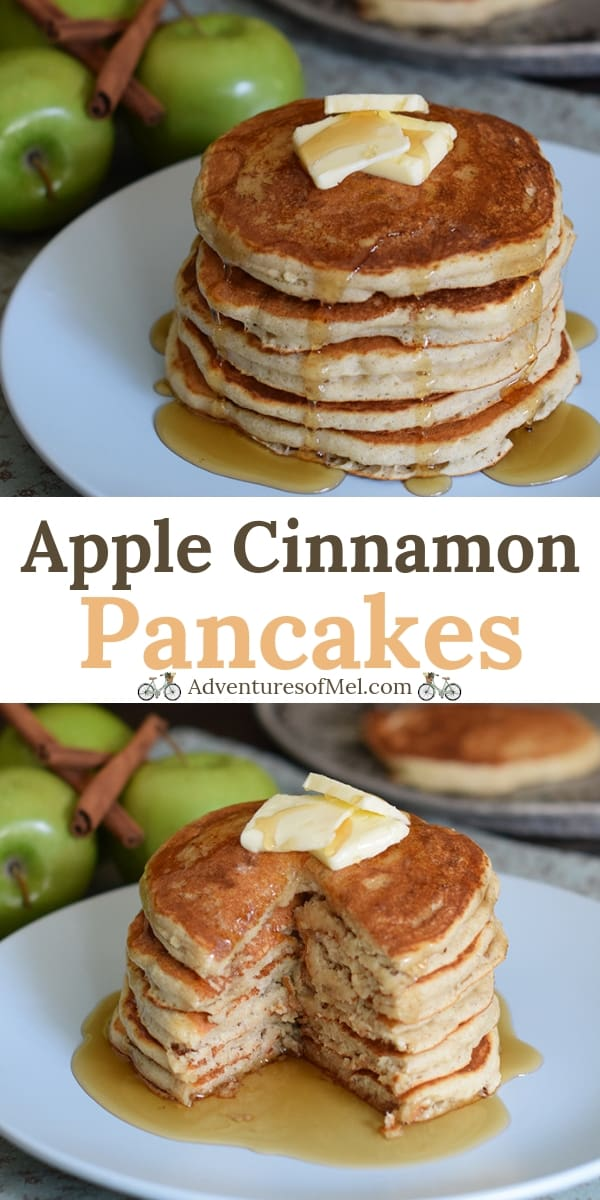 Apple Cinnamon Buttermilk Pancakes Recipe