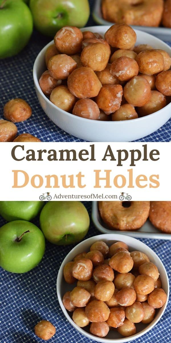 caramel apple donut holes recipe