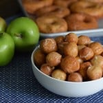 Caramel Apple Donut Holes