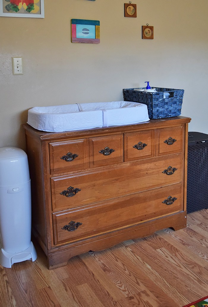 Diy Baby Changing Table