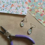 How to Make Beautiful DIY Earrings with Mod Podge