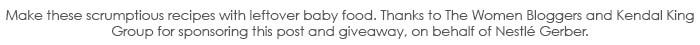 Gerber Baby Food Disclosure
