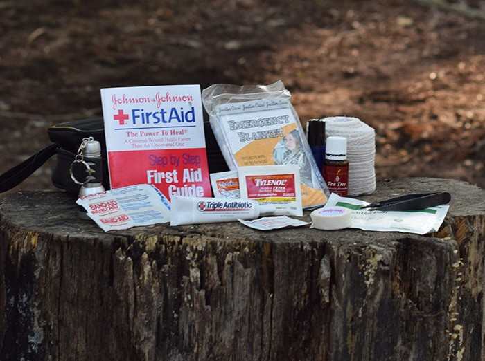 If you keep the usual first aid supplies on hand, it's pretty easy to pack your own kit. Here's a checklist of what to pack in a first aid kit for camping, hiking, travel, and pretty much any family activities.