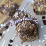 Scrumptiously Healthy Nut Butter and Chocolate Granola Bars