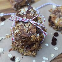 Nut Butter and Chocolate Granola Bars