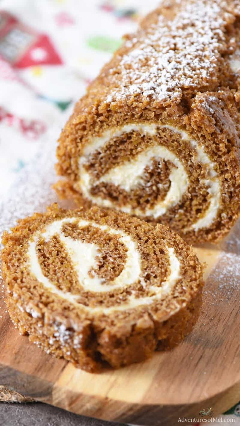 how to make the most scrumptious pumpkin roll ever