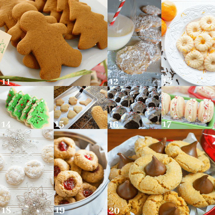 Baking is a holiday tradition, as are family favorite recipes for all kinds of food, including festive treats and desserts. Here are 30 of the most scrumptious classic Christmas cookies for your baking pleasure.