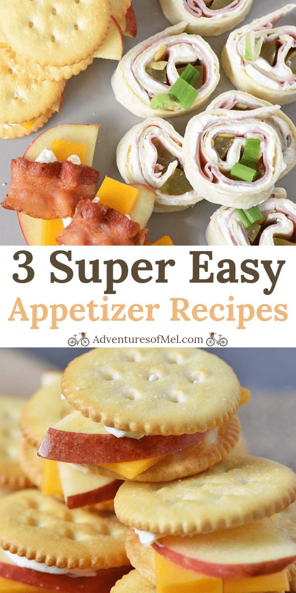 3 super easy appetizer recipes anyone can make