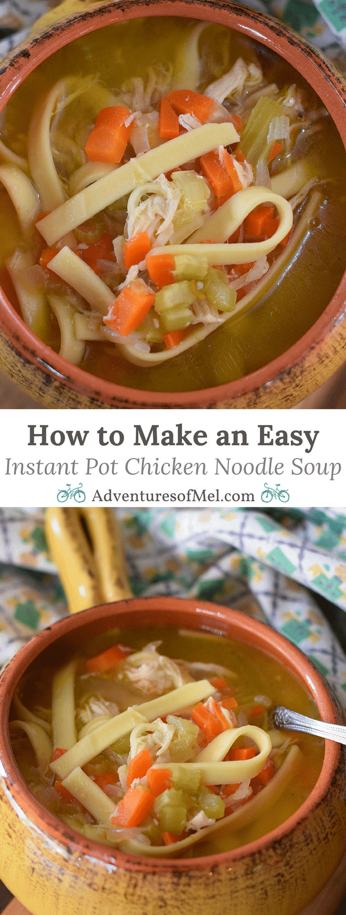 How to make an easy instant pot chicken noodle soup for How to make homemade chicken noodle soup