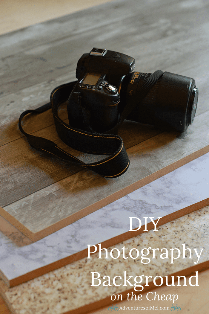 Use Contact Paper and Adhesive Vinyl to make your own photography background boards. How to make a beautiful DIY photography background on the cheap!
