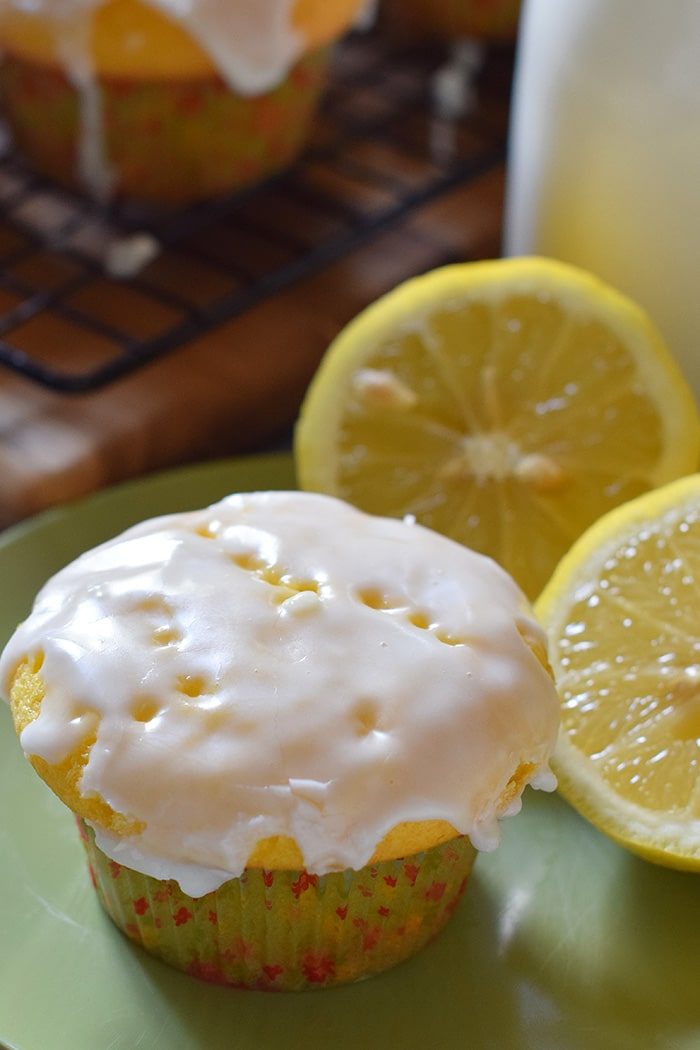 One of my family's favorite desserts is lemon cake. Transform lemon cake into the most scrumptious poke cake lemon cupcakes, topped with a thin, slightly crispy, sweet but tarty lemon icing. Such a delicious and easy dessert recipe!