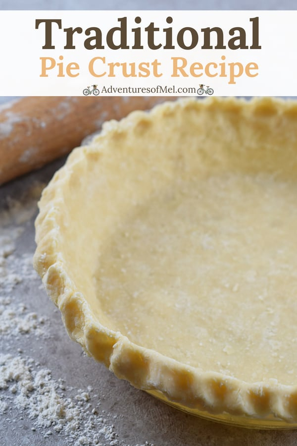 traditional pie crust recipe