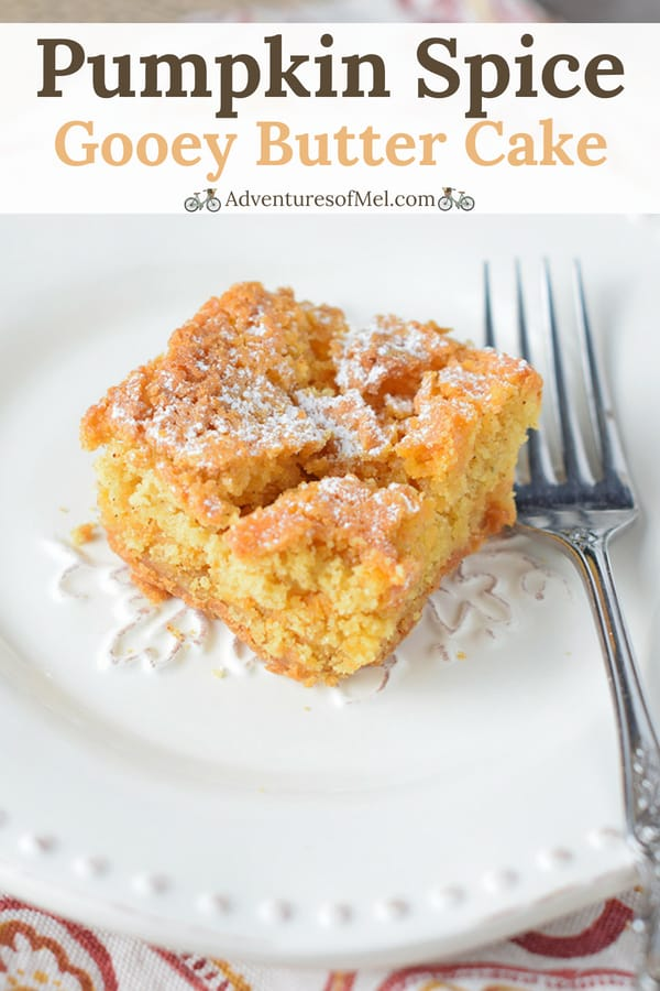 recipe for pumpkin spice gooey butter cake