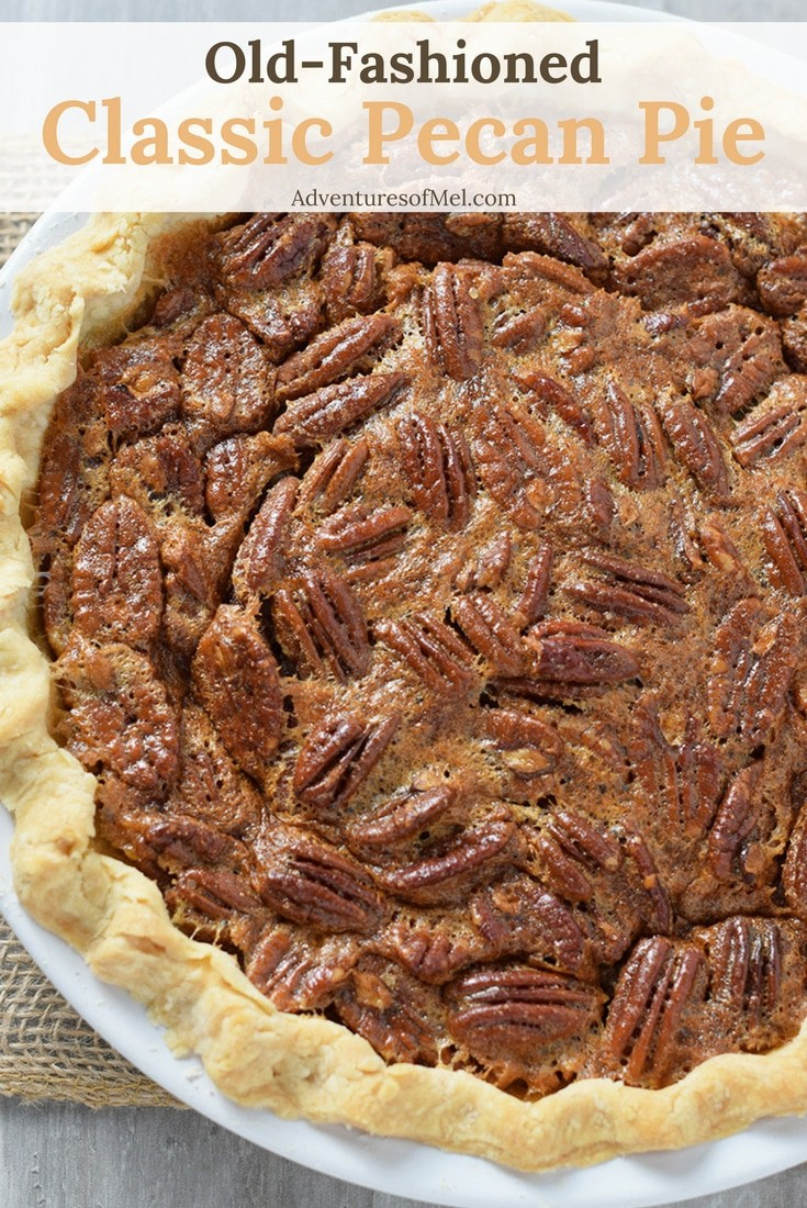 Classic Pecan Pie is one of my family's favorite desserts. Make with pecans and a dreamy sweet filling. So delicious!