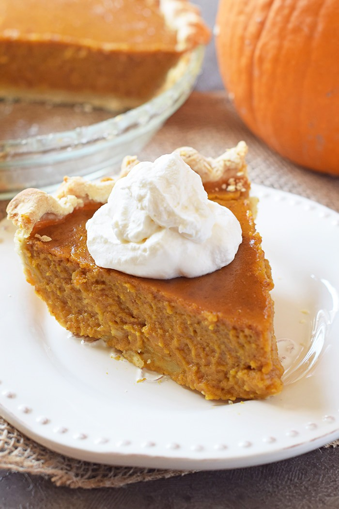 Classic Pumpkin Pie from Scratch - Adventures of Mel