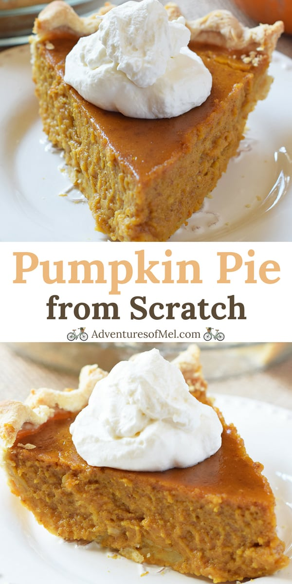 Classic Pumpkin Pie from Scratch