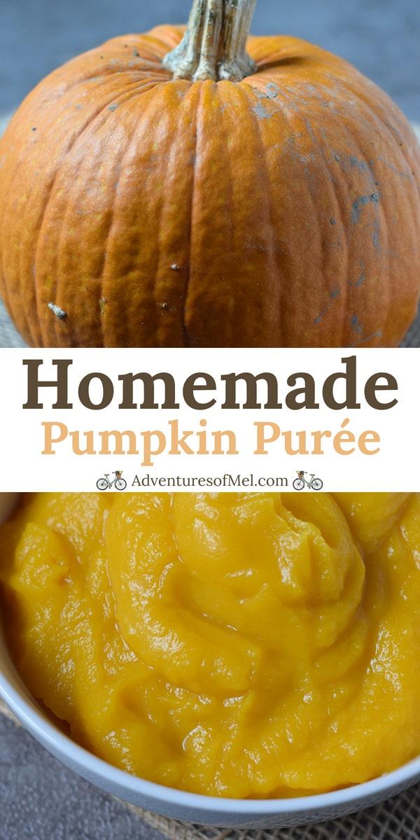 homemade pumpkin puree recipe